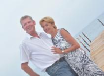 Wil Alkemade en Helga Meister
